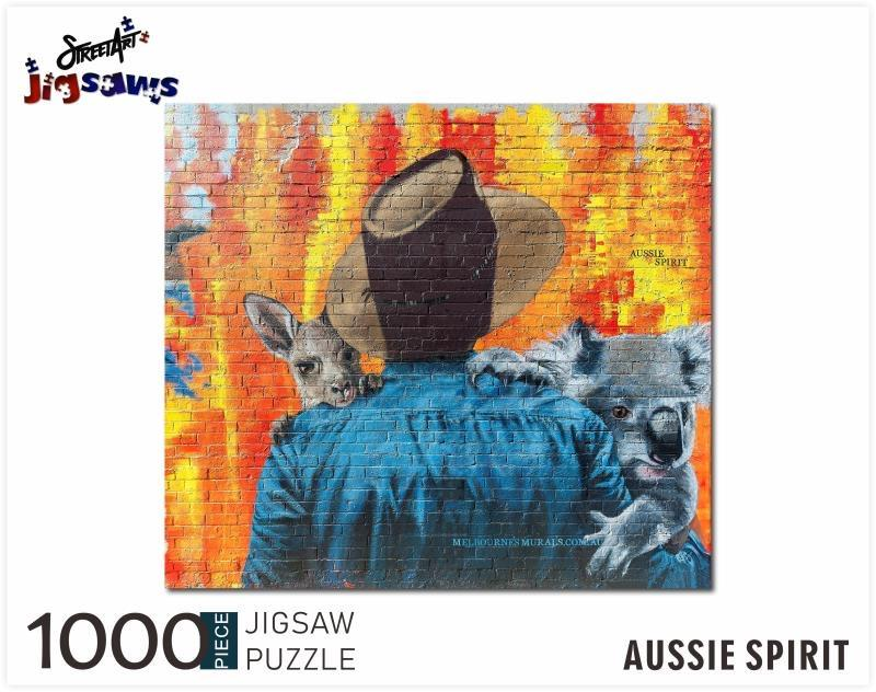 Add Jigsaw Puzzles Aussie Spirit to your Cart