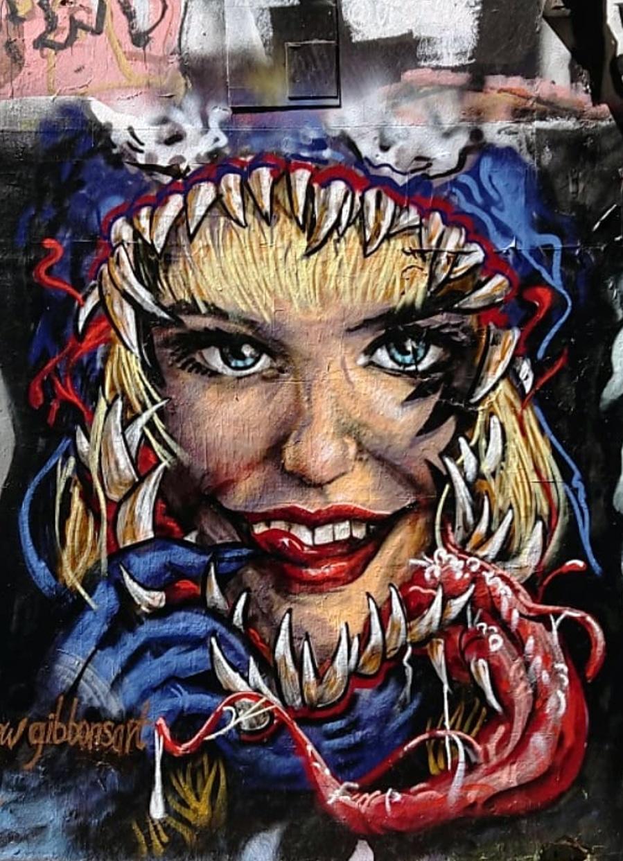 @andrewgibbonsart - Harley Quinn Teeth