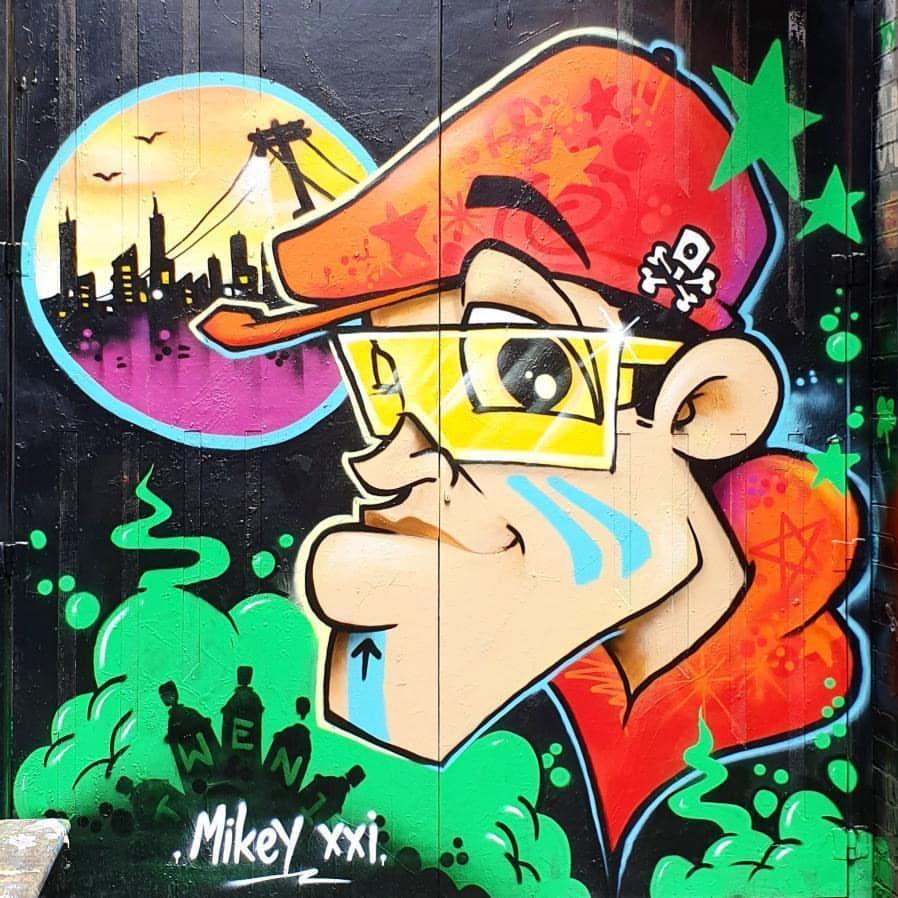 mikeyxxi artist - Inner City Rascal