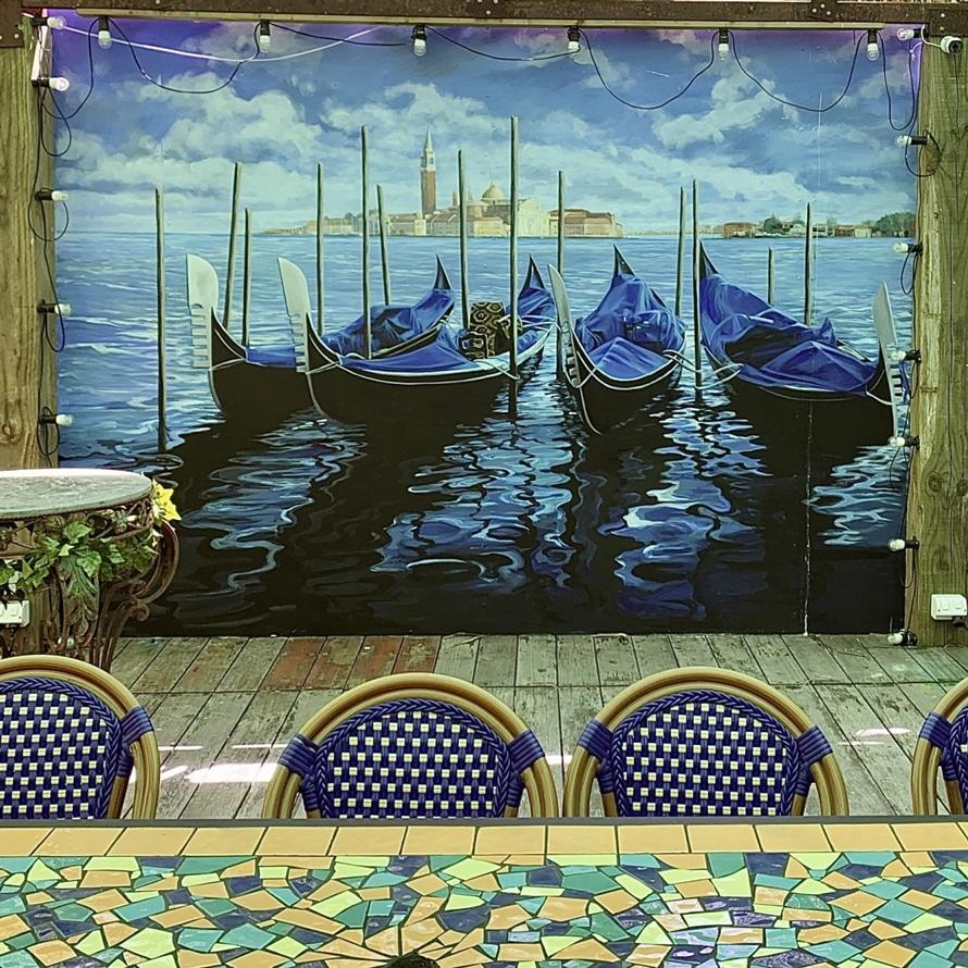 Melbourne Murals Outdoor Venice Backdrop